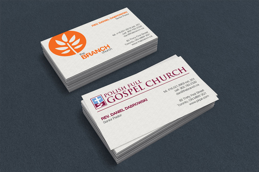 Business Cards – Graph Print